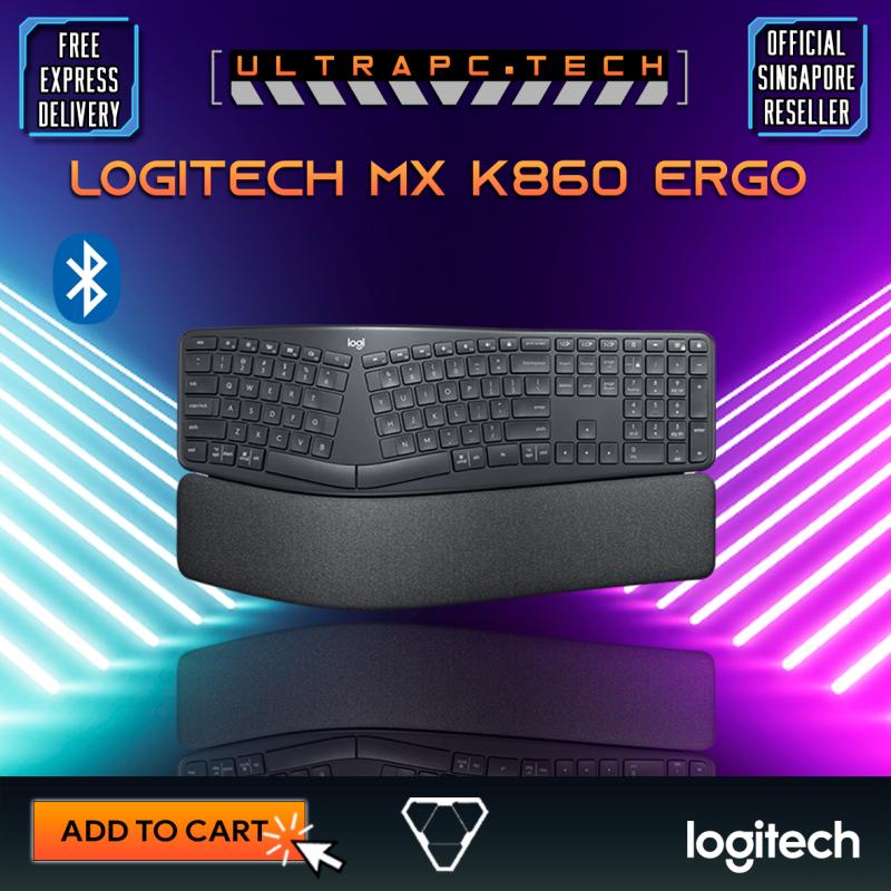 Logitech MX K860 Ergo Wireless Split Keyboard - 920-010111 (2Y) Singapore