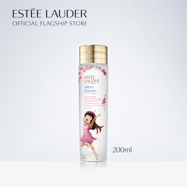 Buy [Limited Edition] Estee Lauder Micro Essence Skin Activating Treatment Lotion Fresh with Sakura Ferment in Exclusive Åsa Ekström-Designed Bottle - Toner 200ml Singapore