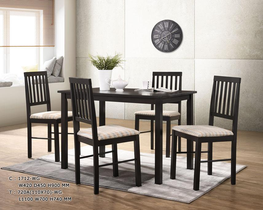 Elve 1+4 Dining Set (Free Delivery and Installation)