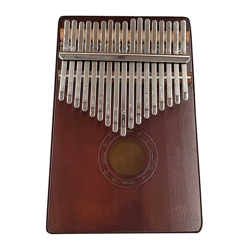17 Key Kalimba African Solid Wood Thumb Finger Piano Wooden Musical Instruments Malaysia