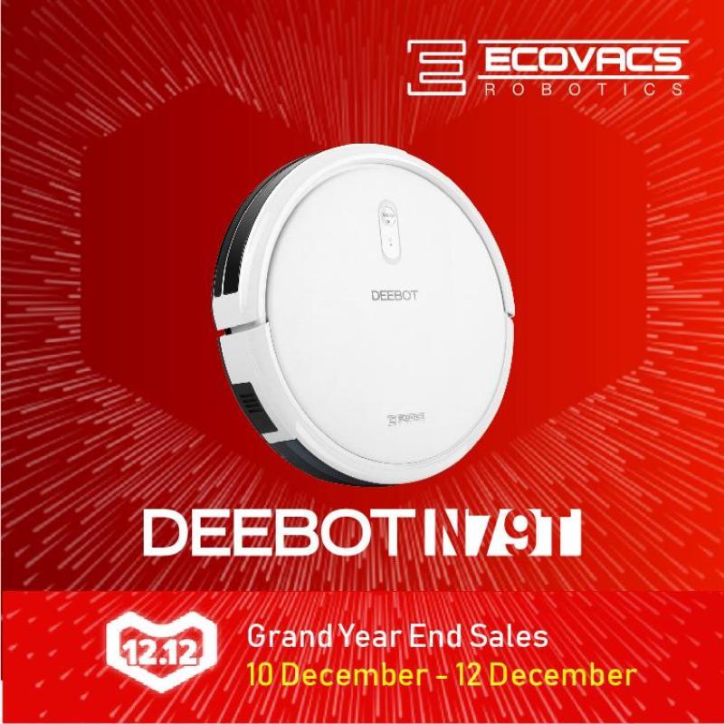 ECOVACS DEEBOT N79T Robot Vacuum Cleaner Singapore
