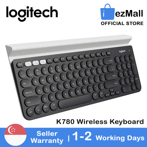 [SG Seller] Logitech K780 Multi-Device Wireless Bluetooth Keyboard With Slient Typing for PC iOS Android [Local Warranty] Singapore