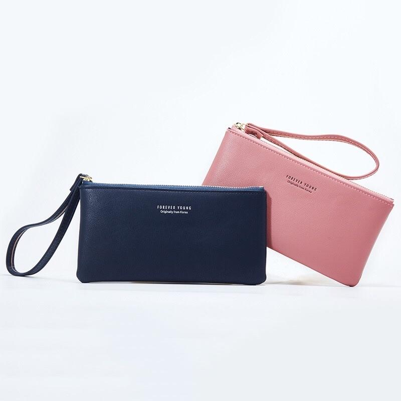 * LOCAL SELLER FAST DELIVERY* 9 Colors Women Big Capacity Wristlet Mobile Phone Clutch with 3 cardholders
