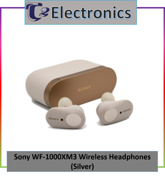 SONY WF-1000XM3 TRUE WIRELESS NOISE CANCELING EARBUDS - T2 electronics Singapore