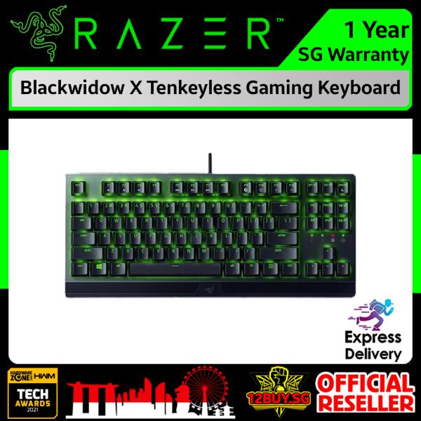 Razer Blackwidow X Tenkeyless Wired Gaming Keyboard 3PM.SG 12BUY.SG 1 Years SG Warranty Express Door Delivery Singapore
