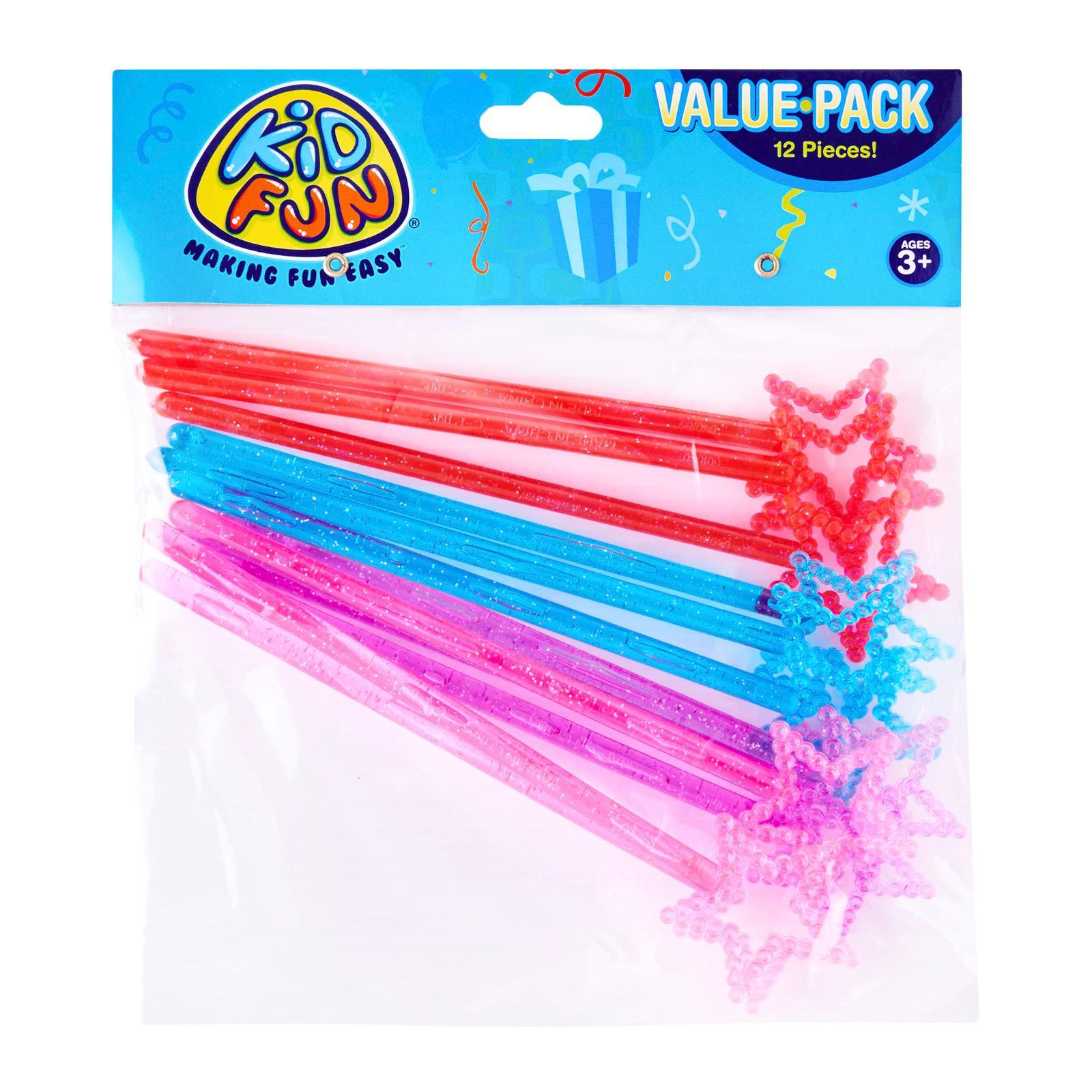 US Toy Mini Princess Star Magic Wands 12 Pack