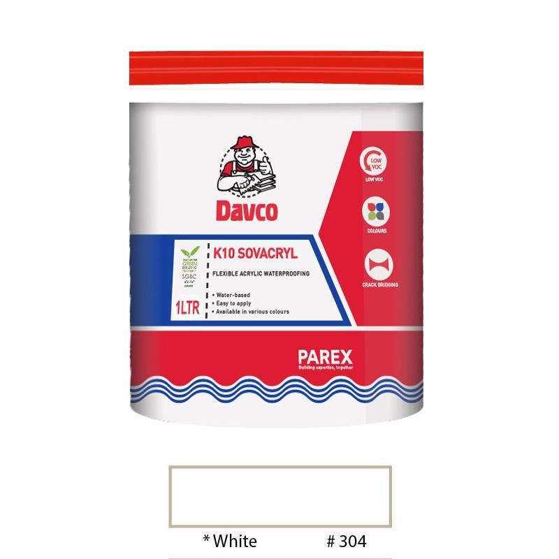 Davco K10 Sovacryl 1L (White)