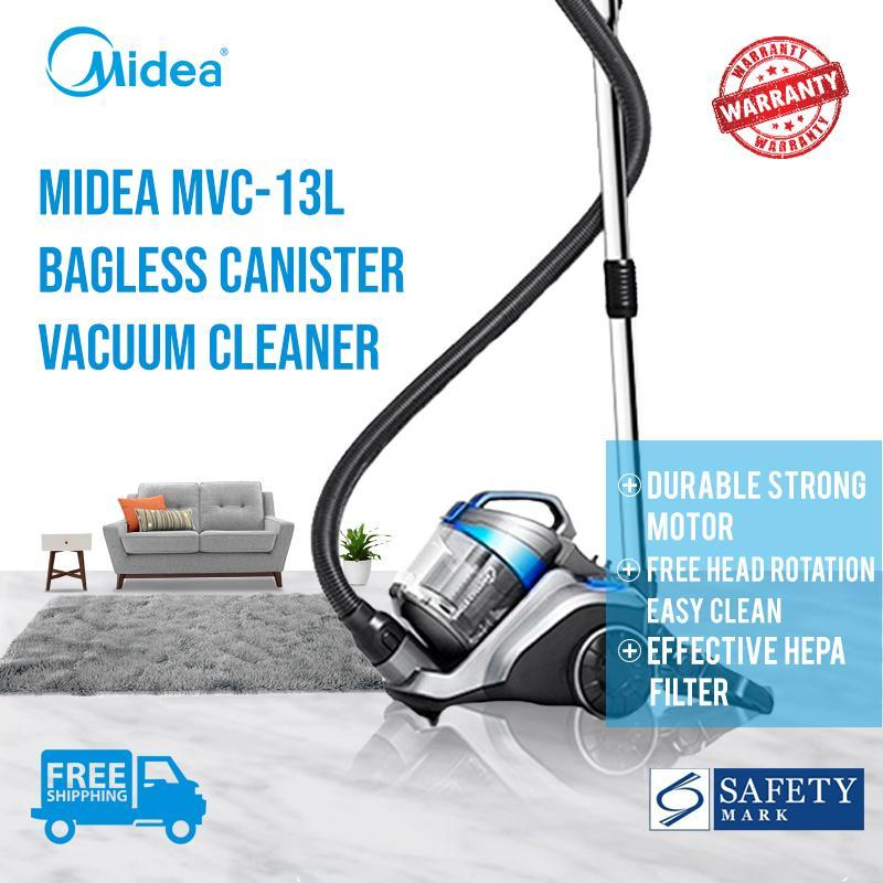 Midea 1200W Bagless Cyclone Canister Vacuum Cleaner MVC-13L Local Official 2 Years Warranty ★FREE SHIPPING★ Singapore