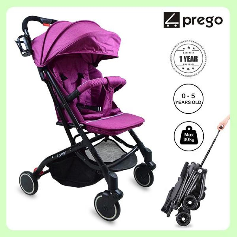 prego Airplane Mode Luggage Series Stroller Singapore