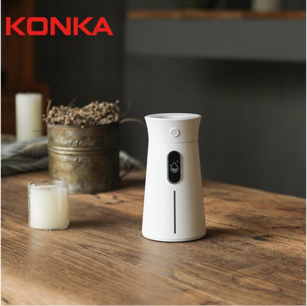 【KONKA】KONKA Mini Humidifier Aromatherapy diffuser Air Dampener Aroma Machine Machine Essential Oil ultrasonic Mist Maker Quiet Singapore