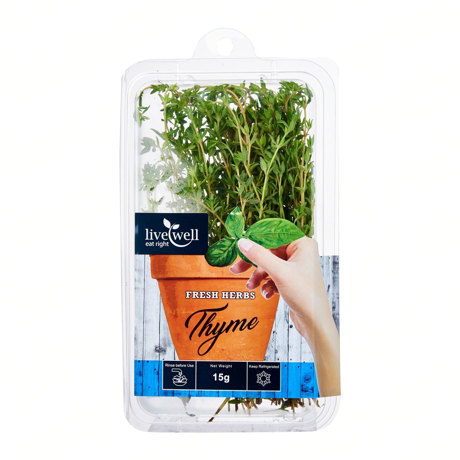 Live Well Thyme Fresh Herbs