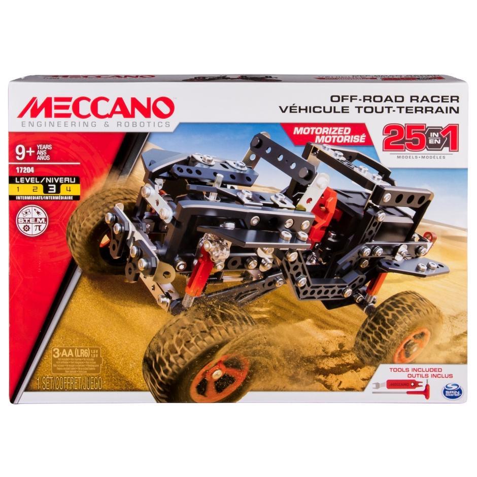 Meccano 25 Models Set 4x4 Off-Road Truck By Bunnybox.