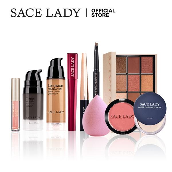 Buy SACE LADY 10Pcs Make Up Set Palette Eyeshadow Mascara Eyeliner Lipstick Matte Concealer Makeup Cosmetics Kit Singapore