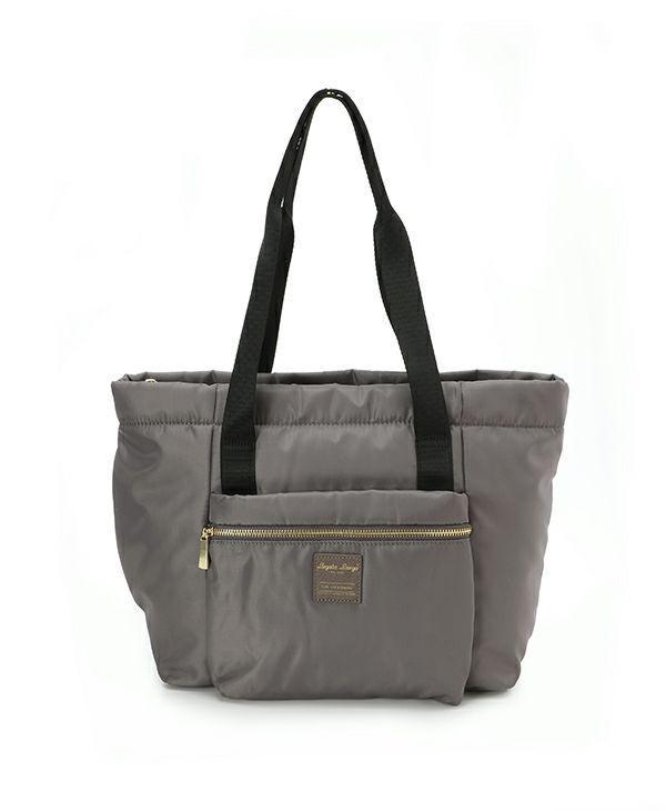 [legato Largo] Water Repellent Nylon Style 10 Pocket Tote Bag By Snd Love.