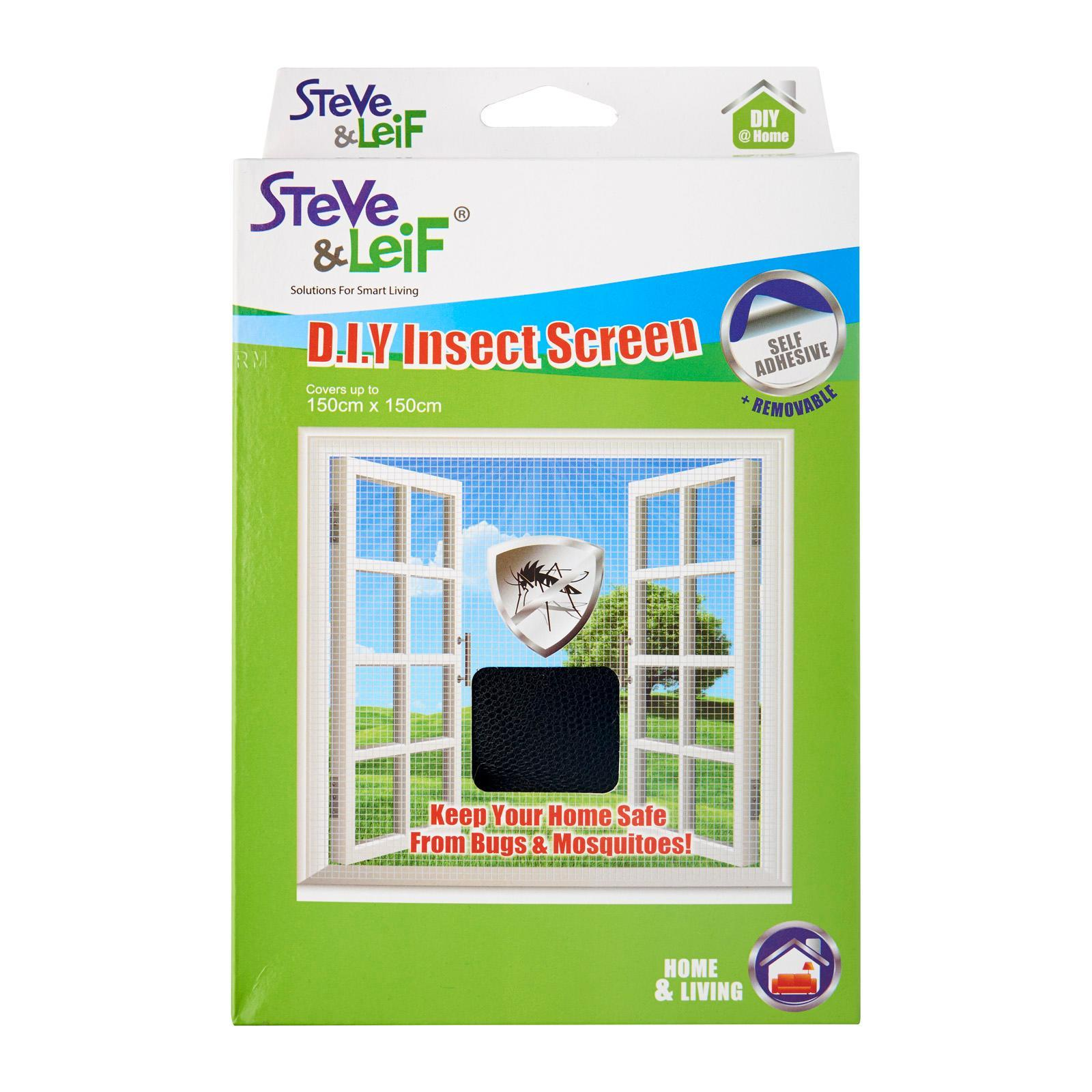 Steve & Leif DIY Black Polyester Mosquito Net (1.5m x 1.5m) DIY