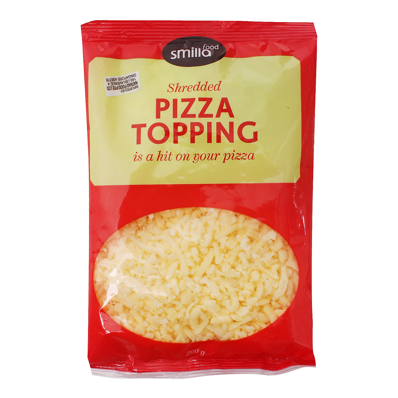 Smilla Pizza Topping Shredded Cheese