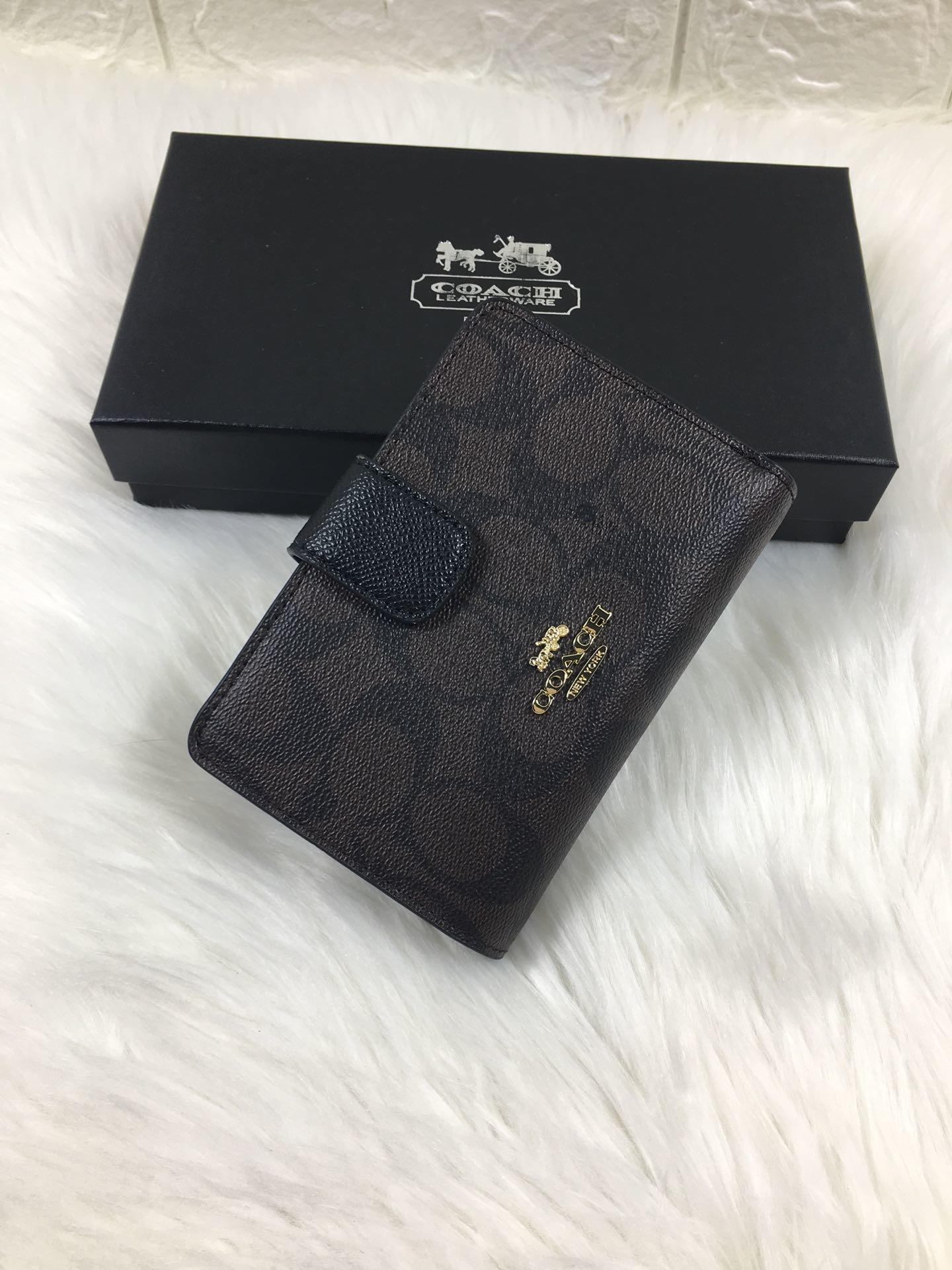 2019 COACH_Original Men's Leather Wallet