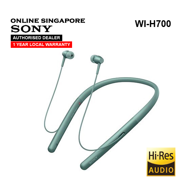 Online Singapore - Sony WI-H700 h.ear in 2 Hi-res Wireless In-ear Headphones Singapore