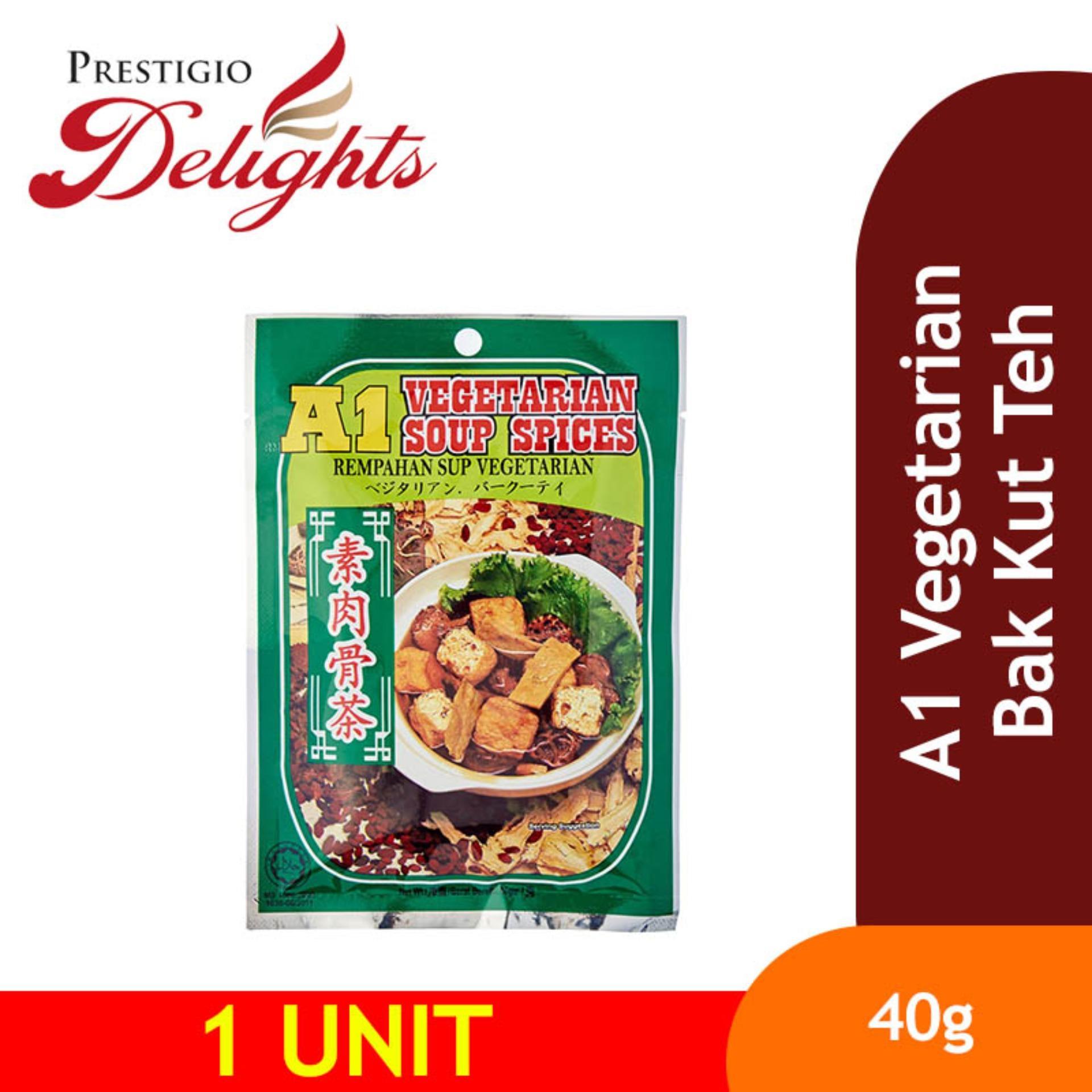 A1 Vegetarian Bak Kut Teh 40g By Prestigio Delights.