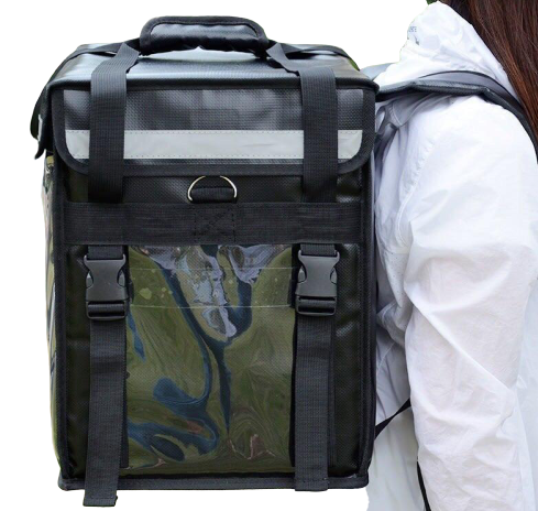 (32l/44l) Waterproof Thermal Insulated Food Delivery Bag (portable, Hand Carry/backpack/motorcycle).