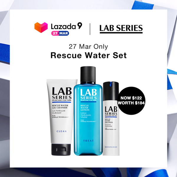Buy [Birthday Exclusive: 27 Mar at $122] Lab Series Rescue Water Set (WORTH $184) Singapore