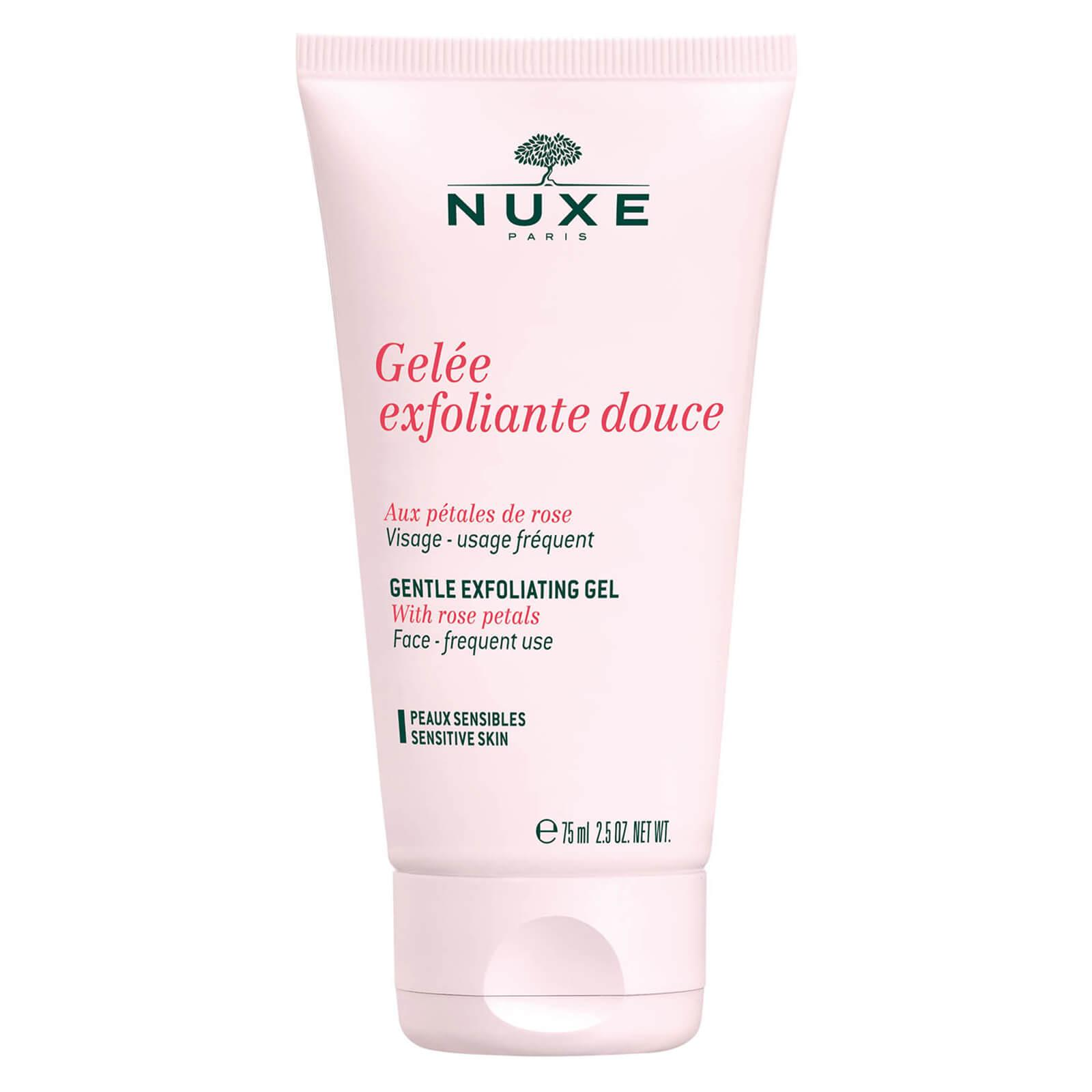 Nuxe Gentle Exfoliating Gel With Rose Petals 75ml By Full Of Beaute2.