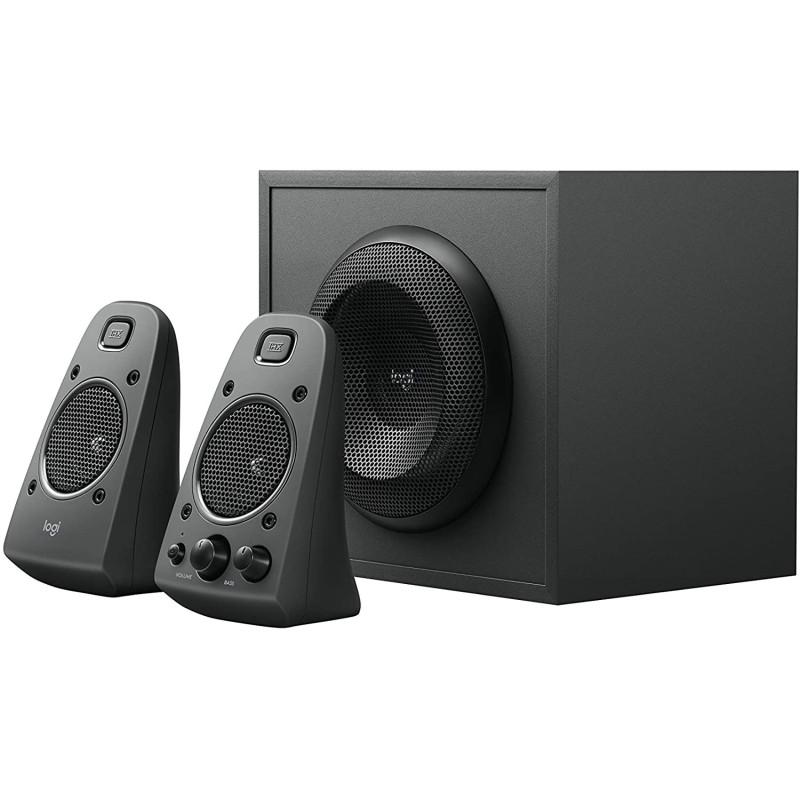 Logitech Z625 Speaker System 2.1 THX Sound Optical Input TV PC Game Consoles Singapore