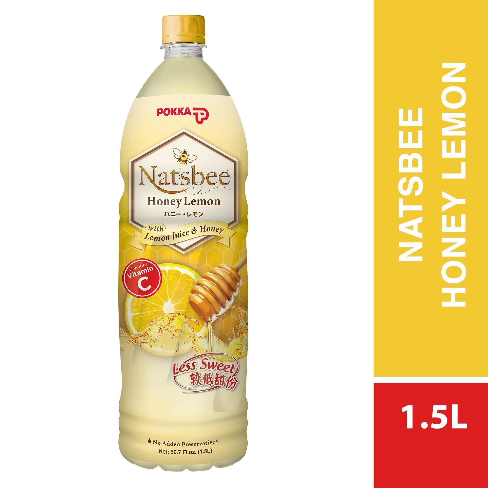 Pokka Natsbee Honey Lemon (Less Sweet) 1.5L