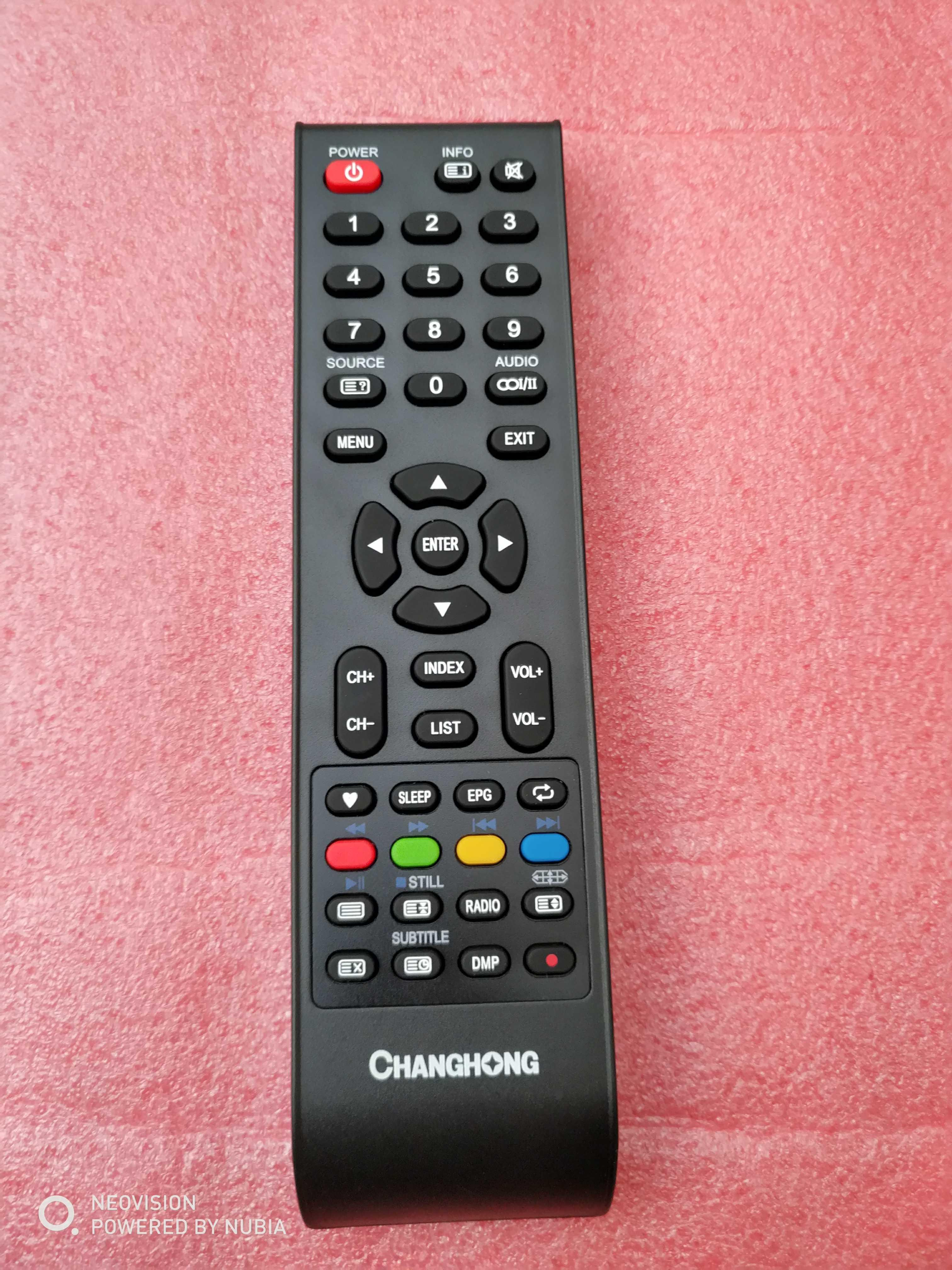 Origional Product Changhong TV Remote GCBLTV20A-C54-DC Remote Control