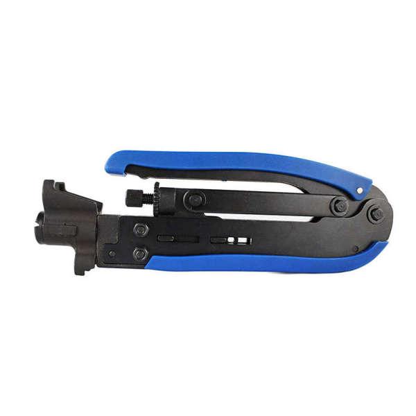 F-Connector Tool,Rg59 Rg6 Rg11 Coaxial Tool Adjustable Compression Tool,Cable Connector Tool