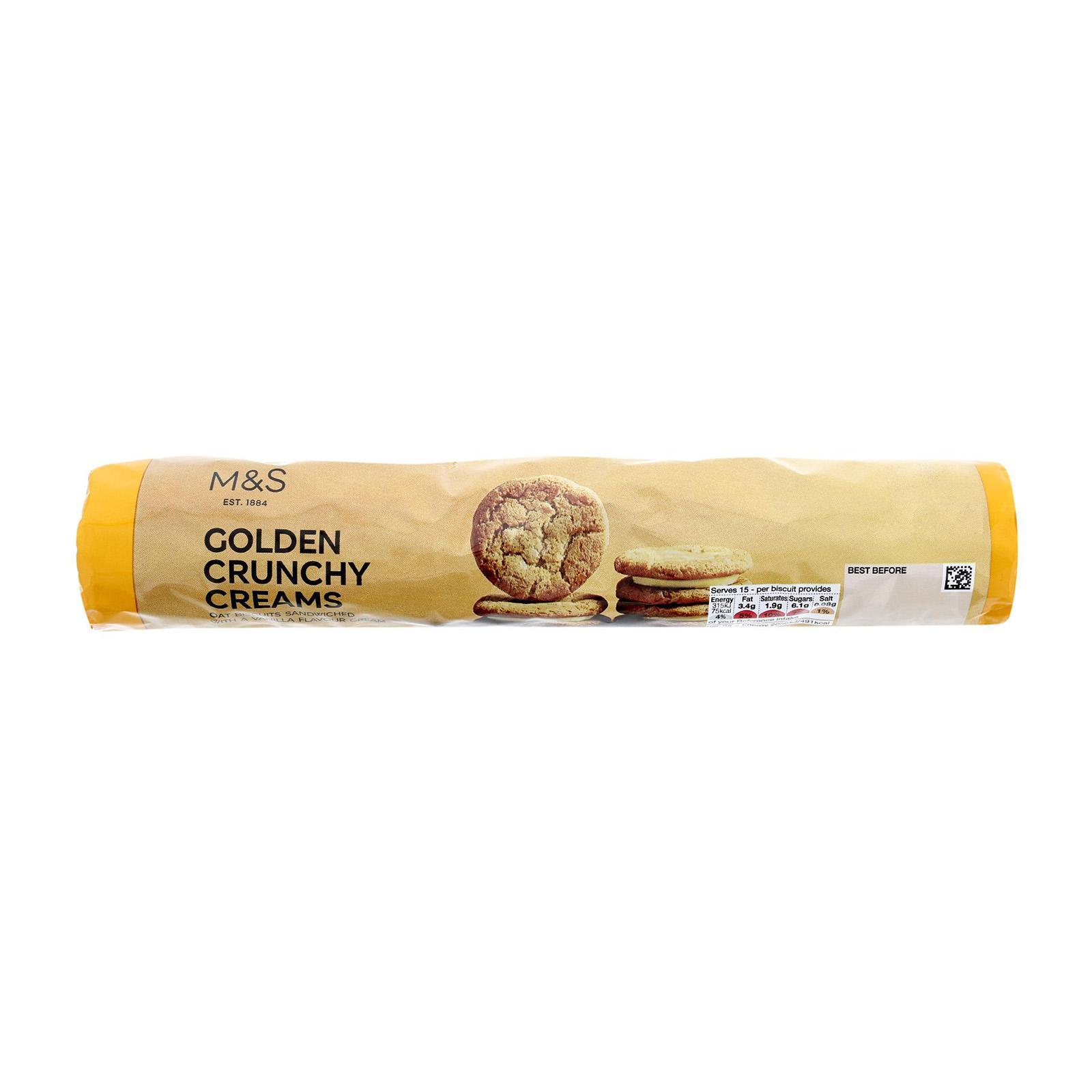 Marks & Spencer Golden Crunchy Creams