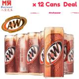 Sale A W Sarsaparilla Root Beer 320Ml X 12 Cans Deal On Singapore