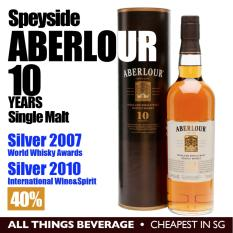 For Sale Aberlour Speyside 10 Years Whisky Single Malt In Gift Cannister Cheapest In Sg