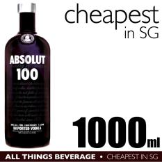 Review Absolut 100 Vodka 1000Ml Cheapest In Sg On Singapore