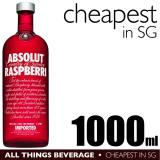 Cheapest Absolut Raspberri Raspberry Vodka 1000Ml Cheapest In Sg
