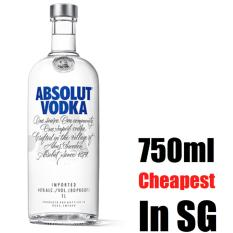 How To Buy Absolut Vodka Original 750Ml Cheapest In Sg