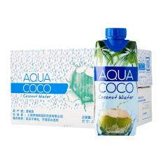 Brand New Aquacoco Coconut Water 330Ml Bundle Of 6
