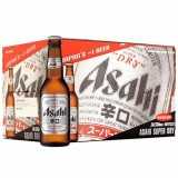 Buy Asahi Super Dry Pint 330 Ml X 24 Bottles Asahi