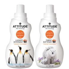 Price Attitude Laundry Detergent 35 Loads 1 05L And Fabric Softener 1L Citrus Zest Bundle Gift Lucas Paw Paw Cream 15Gr Online Singapore