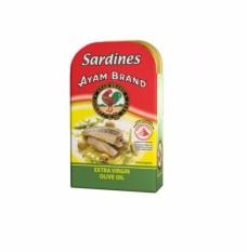 Ayam Sardines Olive Oil 120g