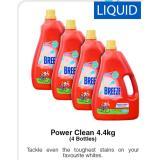 Sale Breeze Liquid Detergent 4 4Kg Power Clean Singapore Cheap