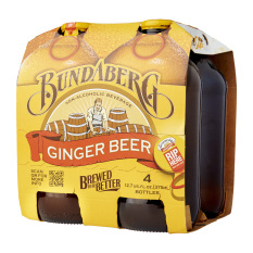 Get The Best Price For Bundaberg Ginger Beer 375Ml X 4S X 6