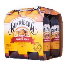 Buy Bundaberg Light Ginger Beer 375Ml X 4S X6 Oem Online