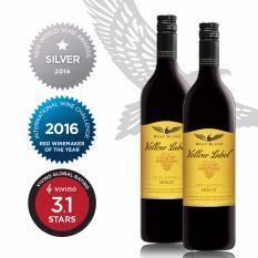 2 Bottles Offer Wolf Blass Yellow Label Merlot 750Ml Reviews