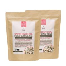 Buy Bundle Deal Nature S Superfoods Organic Instant Quinoa Breakfast Cereal 400G X 2 On Singapore