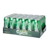 Who Sells The Cheapest Carlsberg Green Label Can 24 X 500Ml Online