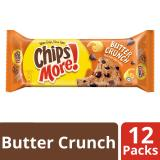 Cheapest Chipsmore Chocolate Chip Cookies Butter Crunch Pack Of 12 142 8 G Each
