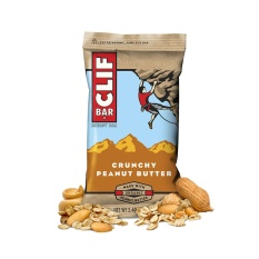 Clif Bar Crunchy Peanut Butter By The Fitness Grocer.