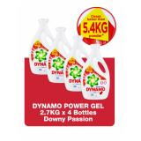 Recent Dynamo Power Gel Regular 4 X 2 7L Downy Passion