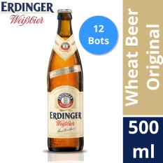 Cheapest Erdinger Weissbrau Wheat Beer Original 500Ml Box Of 12 Bottles Online